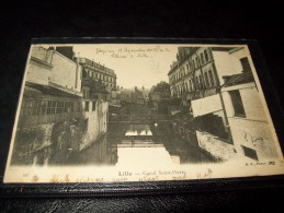 Lille 1903 Canal St Pierre - Lille