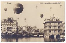 Schweiz Zürich - Gordon-Bennett Rennen Der Lüfte 1909 - Montgolfières