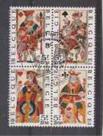 Belgique  1973  CARTES.  N°1689 à 1692 Oblitéré  Serie Compl..) - Gebruikt