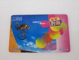 Prepaid Phonecard,BMX,used - Chine