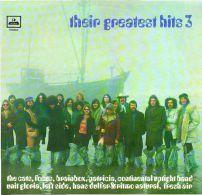 * LP *  THEIR GREATEST HITS 3 - FOCUS - BRAINBOX - UNIT GLORIA - CATS A.o. (Holland 1971) - Compilaties