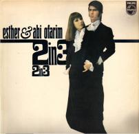 * LP *  ESTHER & ABI OFARIM - 2 IN 3 (Holland 1967) - Disco, Pop