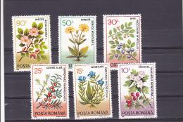 MEDICINAL PLANTS, MI 4866/71, MNH**,  FULL SET OF 6, 1993, ROMANIA - 1948-.... Republics