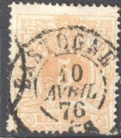 4Jj-249: N°28: D7: BASTOGNE - 1869-1888 Lion Couché