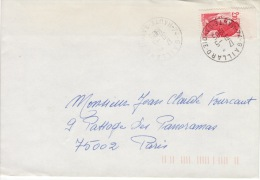 HAUTE SAVOIE -Gaillard- Enveloppe - CAD-Type A9- 1985 - Marcophilie (Lettres)