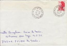 HAUTE SAVOIE -Le Biot- Enveloppe - CAD-Type A9- 1986 - Marcophilie (Lettres)