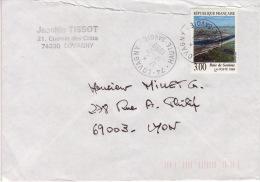 HAUTE SAVOIE -Lovagny- Enveloppe - CAD-Type A9- 1998 - Marcophilie (Lettres)