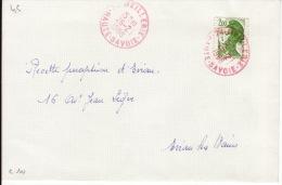 HAUTE SAVOIE -Meillerie- Enveloppe - CAD-Type A9- 1988 - Marcophilie (Lettres)