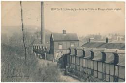 MONVILLE - Sortie De L'Usine De Tissage - France