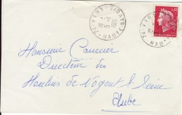 HAUTE SAVOIE -Viry- Enveloppe - CAD-Type A9- 1971 - Marcophilie (Lettres)