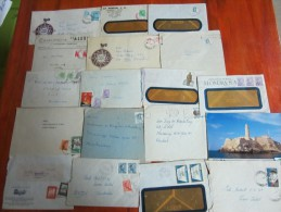 LOTE LOT DE 68 SOBRES Y TARJETAS ENVELOPES AND CARDS  UNIVERSAL ESTUPENDO MARAVILLOSO BELLO - Postzegels