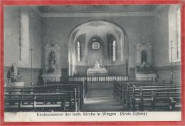 67 - WINGEN ( Sur MODER ) - Kreis ZABERN - Kircheninneres - Neue Kath. Kirche - Francia