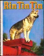 Un petit livre d� Argent  N� 25 - Rin Tin Tin - Les �ditions Cocorico - ( 1956 ) .