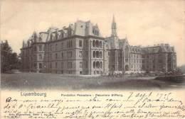 Luxembourg - Fondation Pescator, Pescator Stiftung (ambulant Longwy-Luxembourg, Bahnpost) - Luxembourg - Ville