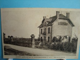 37 - Leugny Sur Creuse Par La Haye-Descartes - Villa De La Creuse - 1936 - Other Municipalities