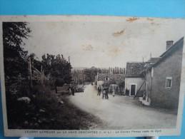 37 - Leugny Sur Creuse Par La Haye-Descartes - Le Carroir Pineau Route De Oyré - 1936 - Other Municipalities
