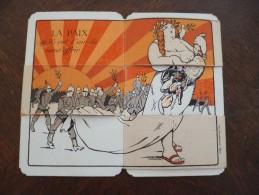FCarte à Système Anti Allemande La Paix Allemande à Restaurer Guerre 14/18. WW1 - Documenti