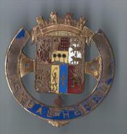 Plaque de Calandre de voiture/ Eskual-Herria/ Pays Basque/ Ann�es 1930         AC97