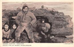 ¤¤   -   GRENLAND   -  Ancien Type De Maison Groenlandaise   -   ¤¤ - Danemark