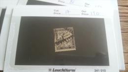 LOT 218265 TIMBRE DE  FRANCE OBLITERE N�17 VALEUR 150 EUROS