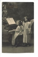 10093 - Joyeux Noël Anges Au Piano - Weihnachten