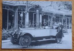 Buick 6 Cylindres Type 17 HP Torpédo 5 Places Devant Le Restaurant De La Grande Cascade Au Bois De Boulogne - (n°2337) - Voitures De Tourisme