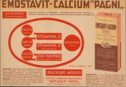 EMOSTAVIT-CALCIUM PAGNI FIRENZE - Carte Assorbenti