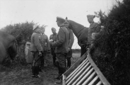 SOLDATS ALLEMANDS GUERRE 1940 D APRES ALBUM ALLEMAND RETIRAGE HAUT DE GAMME SUR PAPIER PHOTO ACTUEL - Weltkrieg 1939-45