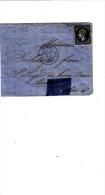 FRANCIA 1863 - Frontespizio  Lettera Con Yvert 14B - 1863-1870 Napoleon III With Laurels