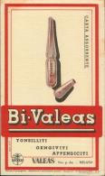 BI- VALEAS 1952 CARTA ASSORBENTE - Carte Assorbenti