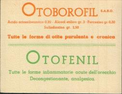 OTOBOROFIL S.A.B.O.  CARTA ASSORBENTE - Blotters
