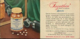 IAGATHEN LEDERLE NEW YORK  CARTA ASSORBENTE - Carte Assorbenti