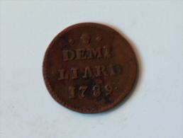 LUXEMBOURG DEMI LIARD 1789 - Luxembourg