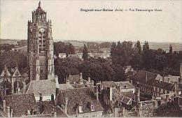 Nogent Sur Seine   91          Vue Panoramique Ouest - Nogent-sur-Seine