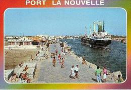 Port La Nouvelle   H92           Le Chenal ( Bateau Maryland Napoli ) - Port La Nouvelle