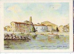 Gruissan   H110           Le Vieux Port ( Aquarelle R Anglès ) - Ohne Zuordnung