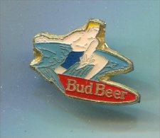 PINS BIERE BUD BEER SURF - Beer