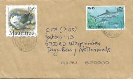 Mauritius Maurice 2005 Stanley Round Island Petrel Bird Shark Marine Life Cover - Mauritius (1968-...)