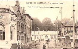 """EXPOSITION UNIVERSELLE DE BRUXELLES 1910-""""PAVILLON ANVERS ET MAISON RUBENS""""-EDIT.V.F BRUXELLES-NON CIRCULEE-GECKO. - Exposiciones Universales"""
