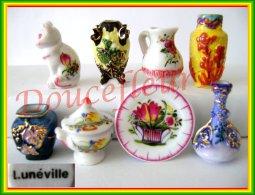 Céramique De Lunéville Au Fil Du Sciècle .. Ref. AFF : 123-2010 ... (pan 8 Br4) - Regioni