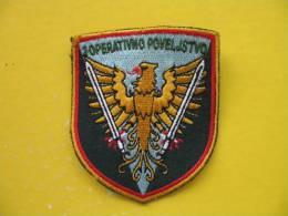 2 OPERATIVNO POVELJSTVO; SLOVENSKA VOJSKA NASITEK-PATCH - Patches