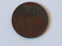 PAYS BAS 1 Centime 1860 - [ 3] 1815-… : Kingdom Of The Netherlands