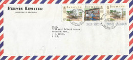 Bermuda 1988 Hamilton Telephone Company Telecommunication Cover - Bermuda
