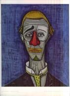 Bernard Buffet Né En 1928  Tête De Clown  TBE - Altre Collezioni
