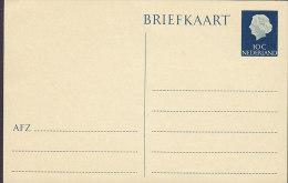 Netherlands Postal Stationery Ganzsache Entier 10 C Juliane Briefkaart Unused - Postal Stationery