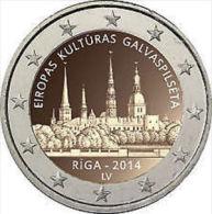 2 Euro Commémorative Letland 2014 - Latvia