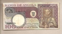 Angola - Banconota Circolata Da 100 Scudi - 1973 - Angola