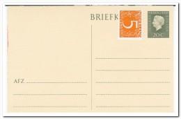 Briefkaart 20ct. Verhooogd Met 5ct. - Postal Stationery