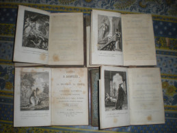 LETTRES A SOPHIE SUR LA PHYSIQUE LA CHIMIE ET L HISTOIRE NATURELLE 4 TOMES AIME MARTIN 1818 - 1801-1900