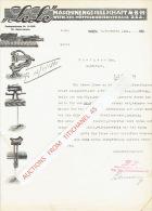 """Lettre 1921 WIEN - """"LELE"""" -  Maschinengesellschaft M.B.H. - Austria"""